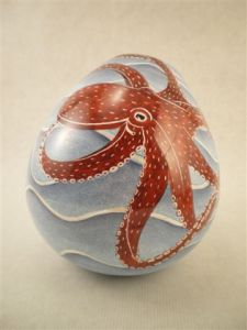 painted porcelain by Wendy Ross