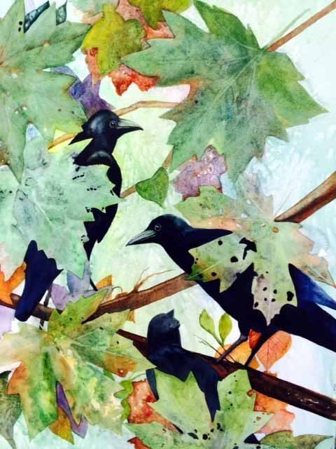 Molly LeMaster - Crows