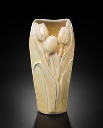 Golden Tulip Vase