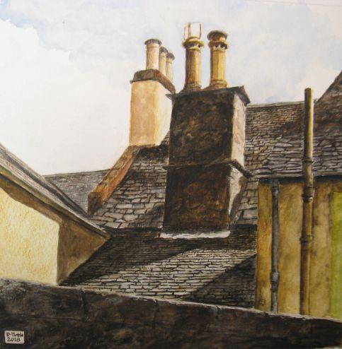 roofs of Dunkeld